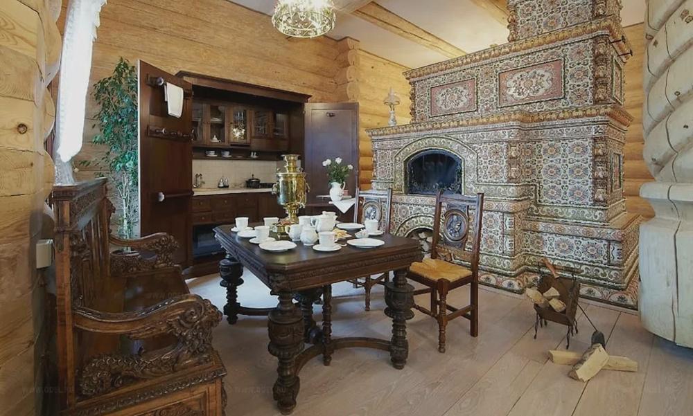 Мебель и интерьер в русском аристократическом стиле.