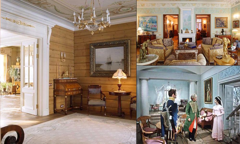 Мебель и интерьер в духе русского классицизма