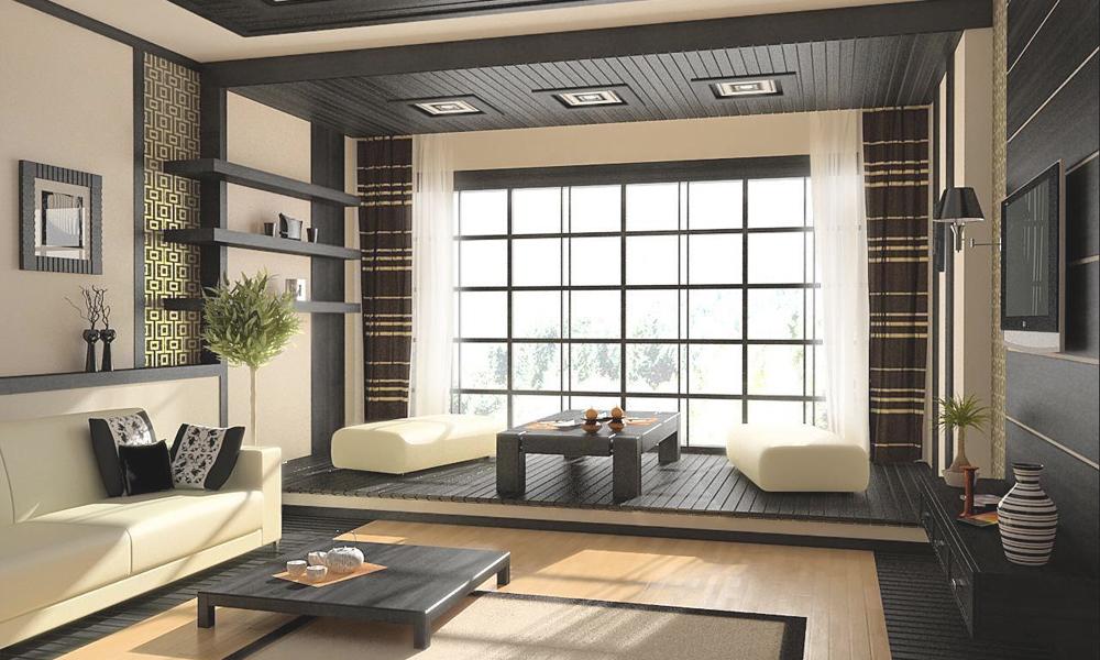 Мебель и интерьер в японском стиле