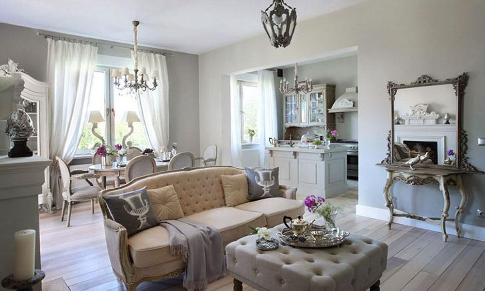 Мебель и интерьер а стиле Прованс